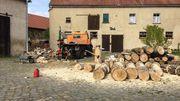 Holzrückearbeiten, Holzrückung, Fällarbeiten