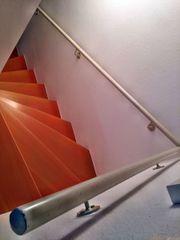 Treppenhandlauf Stahlrohr für