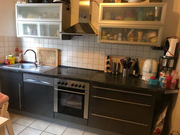 Küche Hochglanz grau in Groß-Zimmern - Küchenzeilen, Anbauküchen ...