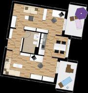 möbliertes 2-Zimmerappartement Penthouse für Studenten