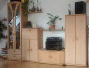 Wohnzimmer-Wand Fichte
