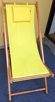Schicker Liegestuhl