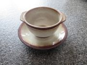Suppentassen mit Untertellern - 6 12 St