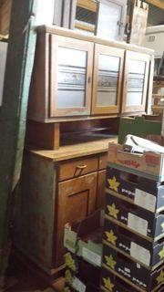 Küchenbuffet antik, massiv
