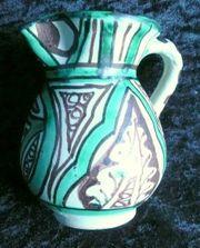 Kleiner Krug Vase mit Henkel