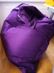 Sitzsack violett ca 160 x
