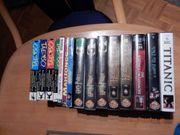 Verschenke verschiedene Gebrauchte VHS Filme