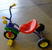 Dreirad Kinderrad Metall