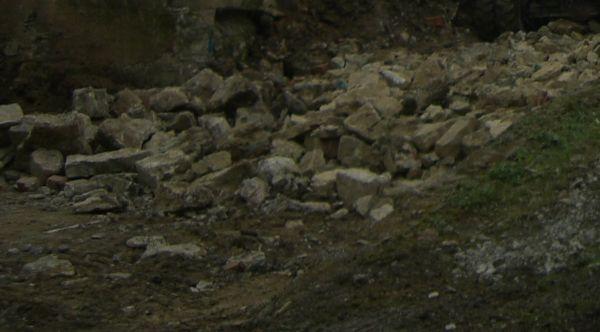 Natursteine Bruchsteine Alte Mauer Für