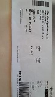 Tickets für die Fete des