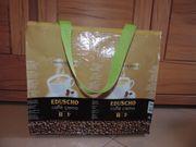 Braune Tasche aus Kaffeetüten Upcycling-Tasche