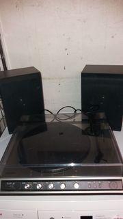Stereo Schallplattenspieler Universum