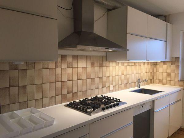Ikea Küche METOD VEDDINGE, 2x4m Incl. Gasherd &-installation, Abzug ...