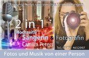 Sängerin und Fotografin