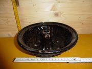 Antike Gugelhupf-Backform mit Gebrauchsspuren
