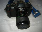 Nikon F-301 Kamera Spiegelreflexkamera mit