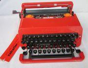 Olivetti Valentine Schreibmaschine rot