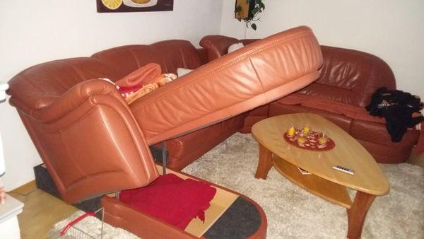 Eckledergarnitur In Renningen Polster Sessel Couch Kaufen Und