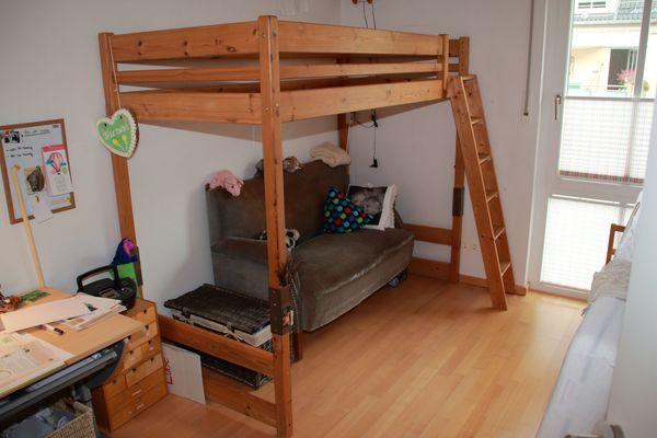 Hochbett Massivholz Gebraucht : Hochbett massivholz kaufen gebraucht dhd