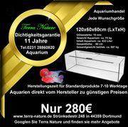 Aquarium - Handel 120x60x60cm 432 L