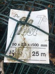 Maschendrahtzaun 2Rollen a 25Meter 1500mm