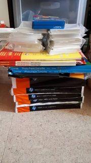 Foto und Drucker Papiere HP