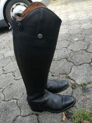 Lederreitstiefel Knie Boots