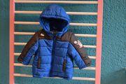 Winter Jungen Jacke blau größe