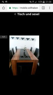 Tisch und sesel