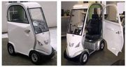 Neuwertiges Elektromobil mit Kabine
