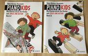 2 Klaviernotenhefte für Kinder - Piano-Kids