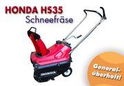 Schneefräse - Snowblower - Honda HS 35