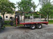 Rückewagen mit Farma