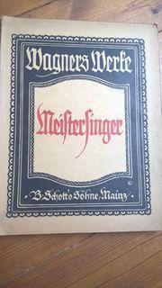 Rarität - Antiquarisch - Richard Wagner Meistersinger - Parsifal