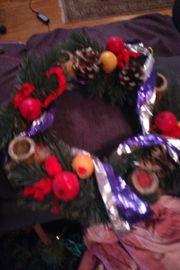 Weihnachtskranz, Mutze, kleiner