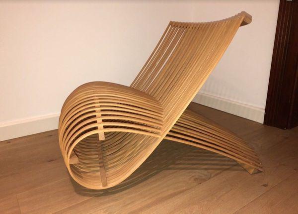 Wooden Chair Holzsessel Design By Marc Newson In Korschenbroich