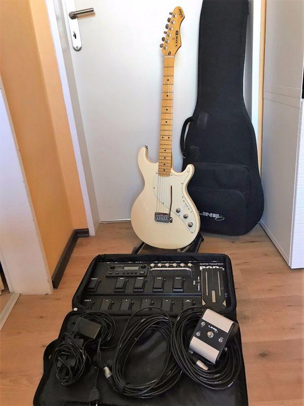 E Gitarre Line 6 Variax 600 und Pod XT Live in Lampertheim ...