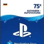 Playstation 4 Guthaben Karte PSN