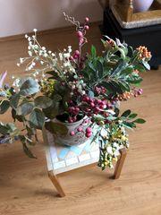 Blumen -Bukett Vase
