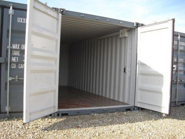 Garagen Container lager garage container für privat und gewerbe mit licht und strom