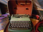 Kofferschreibmaschine rheinmetall