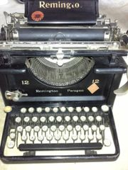 Schreibmaschiene RemingtonParagea Stuttgart