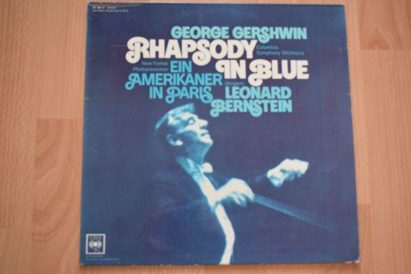 Schallplatte George Gershwin Rhapsody in