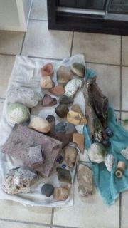 Steine usw für