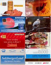 Telefonkarten Frankreich Portugal Schweiz Österreich