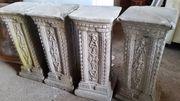 Säulen - Beton-Steinsäulen -