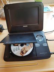 Philips tragbarer DVD