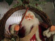 Weihnachtsmann spielt Geige