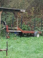 Traktor Anhänger Rolle