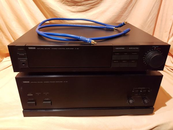 Yamaha Stereo Power Amplifier Ns Series M
